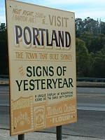 Sign of Yesteryear